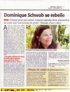 Dominique Schwob se rebelle - Midi Libre